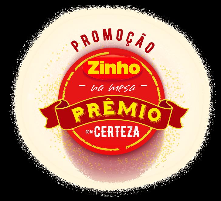 Promoção Zinho na mesa, prêmio com certeza